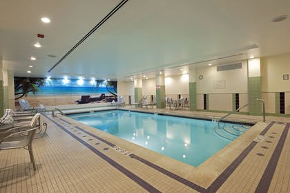 Indoor Pool | SpringHill Suites Chicago O'Hare by Marriott