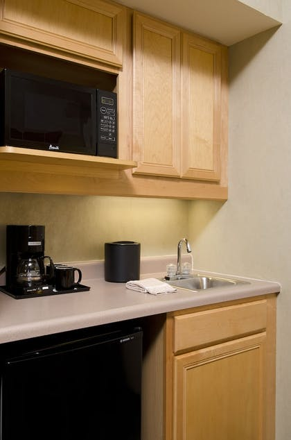 In-Room Kitchenette | SpringHill Suites Chicago O'Hare by Marriott