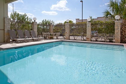 Outdoor Pool | Holiday Inn Express Hotel & Suites College Station