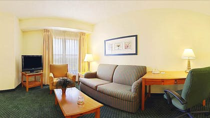 Living Area | Residence Inn by Marriott DFW Airport North-Irving