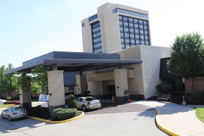 Hotel Entrance | Ramada Plaza by Wyndham Cincinnati Sharonville