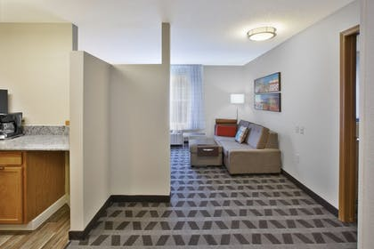 Living Area   Towneplace Suites By Marriott Brookfield
