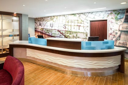Reception   SpringHill Suites by Marriott Austin South