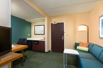 Living Area | SpringHill Suites by Marriott Austin South