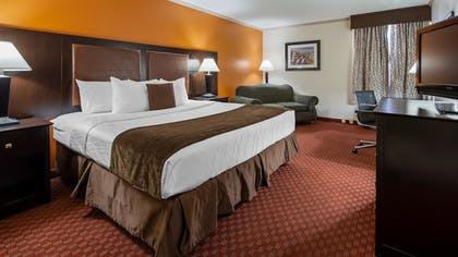 Guestroom | Best Western Plus Lubbock Windsor Inn