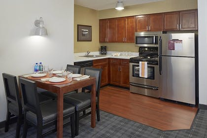 In-Room Kitchen | Residence Inn Minneapolis Downtown at The Depot by Marriott