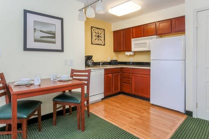 In-Room Kitchen | Residence Inn by Marriott Oklahoma City South