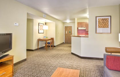 Living Room | TownePlace Suites by Marriott Raleigh Cary-Weston Parkway