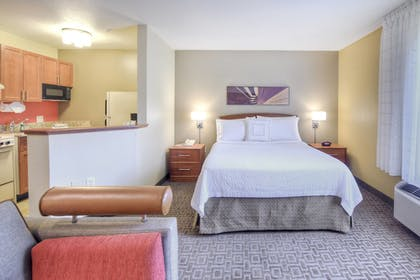 In-Room Kitchen | TownePlace Suites by Marriott Raleigh Cary-Weston Parkway