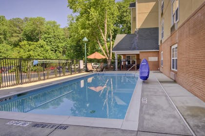 Outdoor Pool | TownePlace Suites by Marriott Raleigh Cary-Weston Parkway