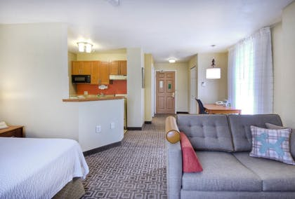 Living Area | TownePlace Suites by Marriott Raleigh Cary-Weston Parkway