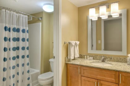 Bathroom | TownePlace Suites by Marriott Raleigh Cary-Weston Parkway