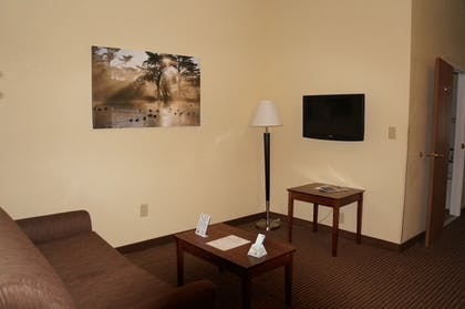 Living Area | BEST WESTERN Executive Suites - Columbus East