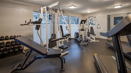 Fitness Facility | Best Western Plus Carlton Suites
