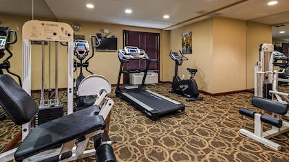 Fitness Facility | Best Western Plus Anderson