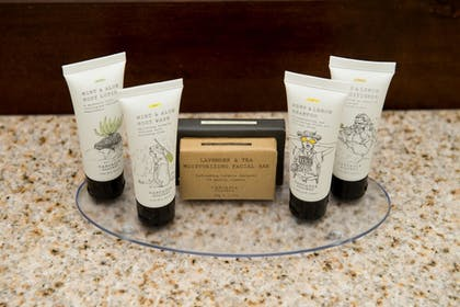 Bathroom Amenities | Cabot Lodge Jackson North - a Red Lion Hotel