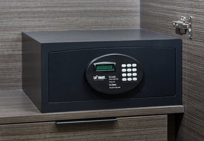 In-Room Safe | The Nest Palo Alto