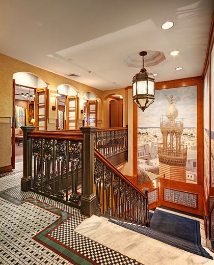 Staircase | Casablanca Hotel by Library Hotel Collection