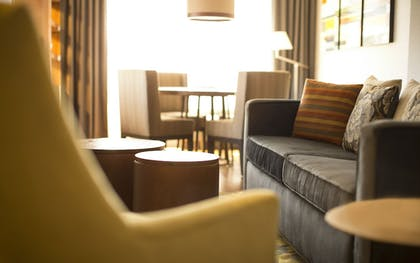 Living Area | The Paramount Hotel
