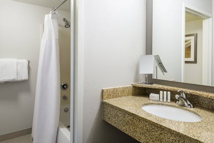 Bathroom | Courtyard by Marriott Chattanooga Downtown