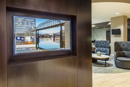 Reception | Courtyard by Marriott Chattanooga Downtown