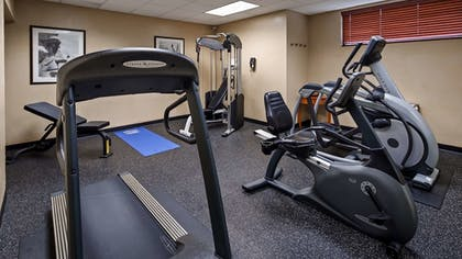 Fitness Facility | Best Western Plus Hannaford Inn & Suites