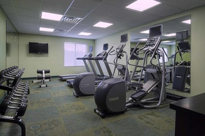 Fitness Facility | Springhill Suites By Marriott Baton Rouge South