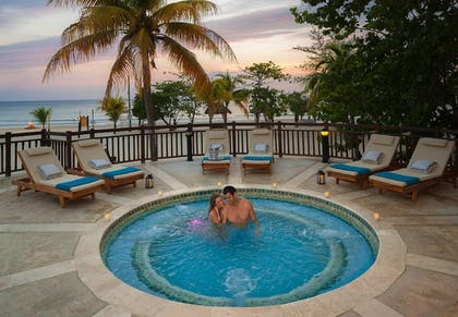 Outdoor Spa Tub | Beaches Negril