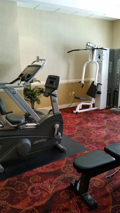 Gym | Jefferson Clinton Hotel