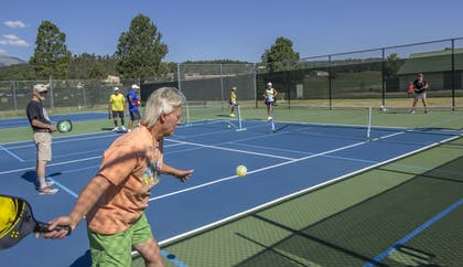 Tennis Court | MCM Elegante Lodge & Suites Ruidoso