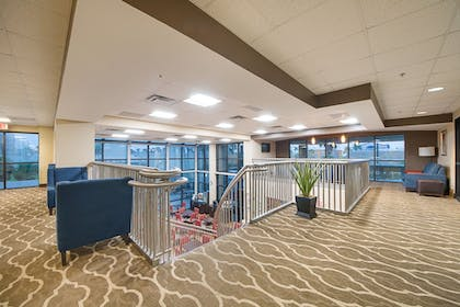 Lobby Sitting Area | Comfort Suites South Padre Island