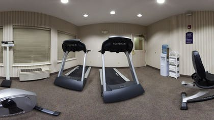 Fitness Facility | Holiday Inn Express & Suites Marion