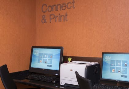 Business Center | Fairfield Inn and Suites By Marriott St Charles