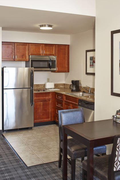 In-Room Kitchen | Residence Inn Milwaukee Downtown by Marriott