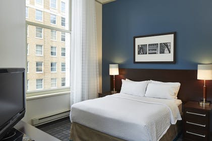 Guestroom View | Residence Inn Milwaukee Downtown by Marriott
