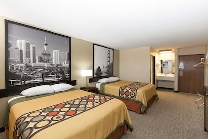 Guestroom | Super 8 by Wyndham Wichita North