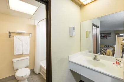Bathroom | Super 8 by Wyndham Wichita North