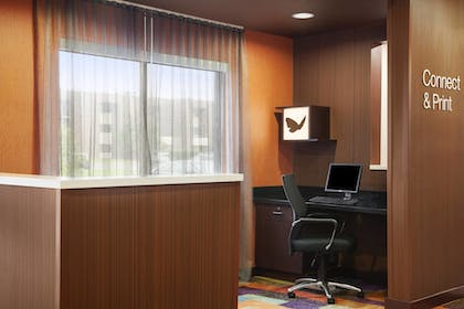 Business Center | Fairfield Inn & Suites Lansing West