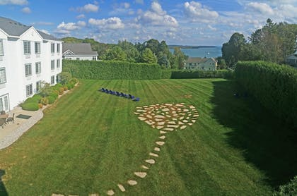 View from Hotel   Charlevoix Inn & Suites