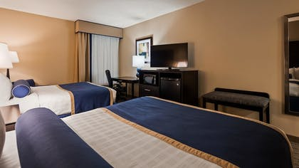 Guestroom | Best Western New Albany