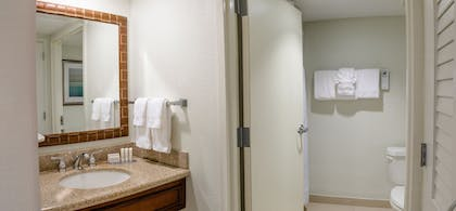 Bathroom | Courtyard by Marriott - Naples