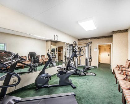 Fitness Facility   Clarion Inn Willow River