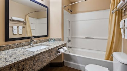 Bathroom | Best Western Dodgeville Inn & Suites