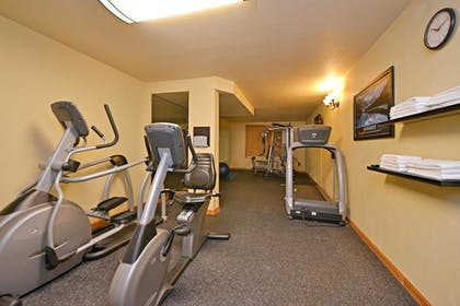 Fitness Facility | Best Western Plus Spirit Mountain Duluth