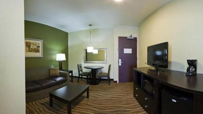 Living Area | Holiday Inn Express & Suites American Fork - North Provo