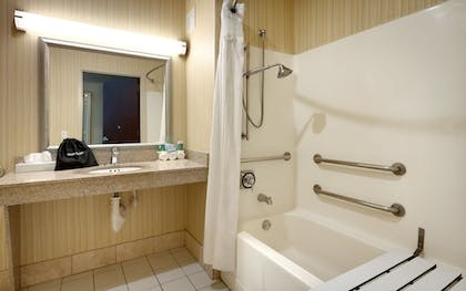 Bathroom | Holiday Inn Express & Suites American Fork - North Provo