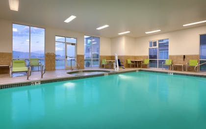 Indoor Pool | Holiday Inn Express & Suites American Fork - North Provo