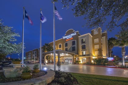 Hotel Front - Evening/Night | SpringHill Suites San Antonio Downtown/Riverwalk Area