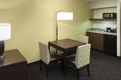 In-Room Kitchenette | SpringHill Suites Dallas Downtown / West End