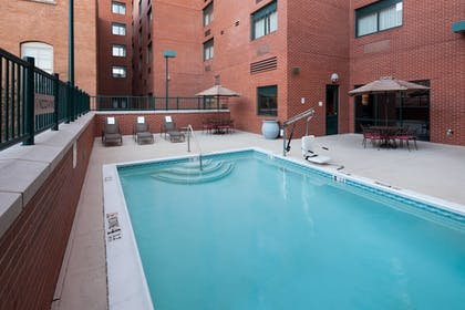 Outdoor Pool | SpringHill Suites Dallas Downtown / West End